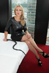 Domina Charlotte de Winter in einem Hotel in Duesseldorf